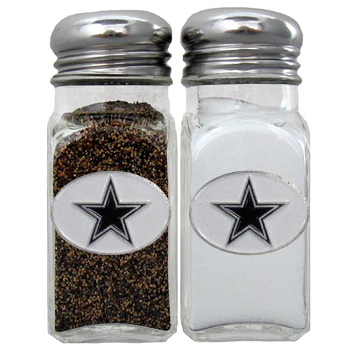 Salt & Pepper Shaker - Dallas Cowboys - Our NFL salt and pepper set is a great addition to any tailgating event or backyard BBQ. Officially licensed NFL product Licensee: Siskiyou Buckle Thank you for visiting CrazedOutSports.com