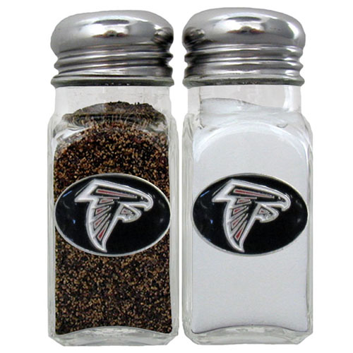 Salt & Pepper Shaker - Atlanta Falcons - Our NFL salt and pepper set is a great addition to any tailgating event or backyard BBQ. Officially licensed NFL product Licensee: Siskiyou Buckle .com