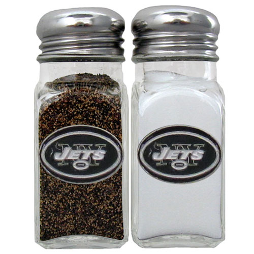 Salt & Pepper Shaker - New York Jets - Our NFL salt and pepper set is a great addition to any tailgating event or backyard BBQ. Officially licensed NFL product Licensee: Siskiyou Buckle Thank you for visiting CrazedOutSports.com