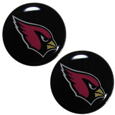 Arizona Cardinals Ear Gauge Pair 00G - Our officially licensed Arizona Cardinals ear plugs are double flared for a snug fit and the back screws on and off. They are made of quality 316L stainless steel and feature an inlaid team logo.