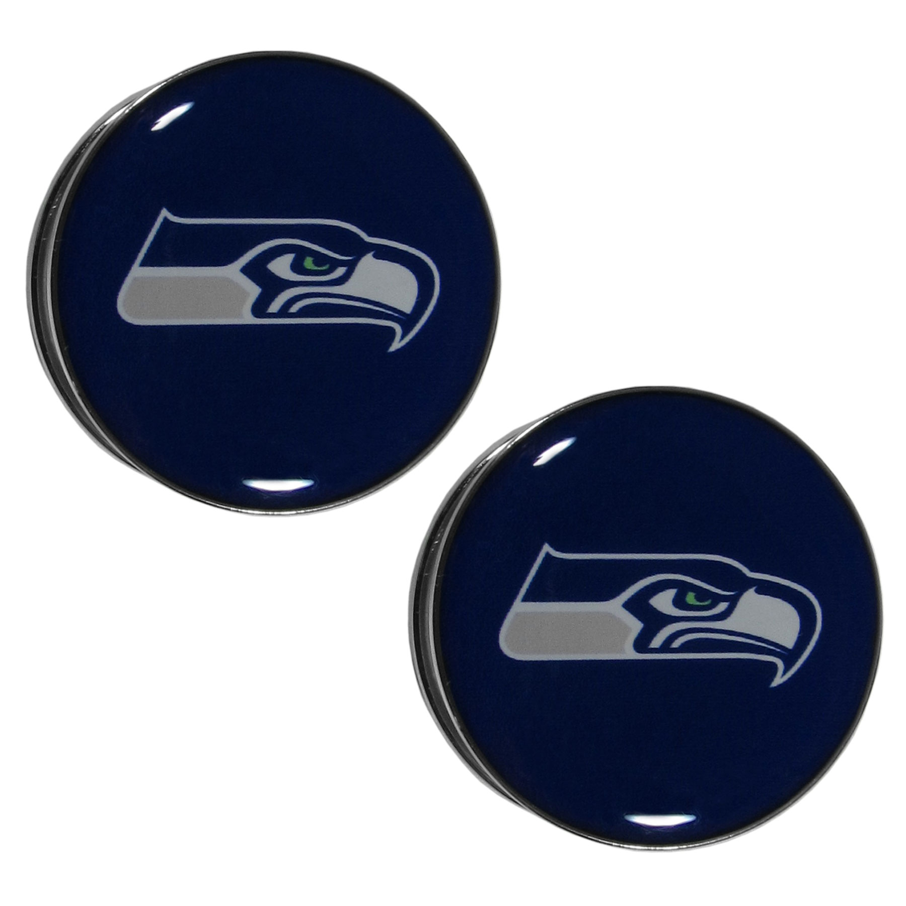 Seattle seahawks ear gauge pair 0g biocorpaavc Image collections