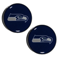 Seattle Seahawks Ear Gauge Pair 00G - Our officially licensed Seattle Seahawks ear plugs are double flared for a snug fit and the back screws on and off. They are made of quality 316L stainless steel and feature an inlaid team logo.