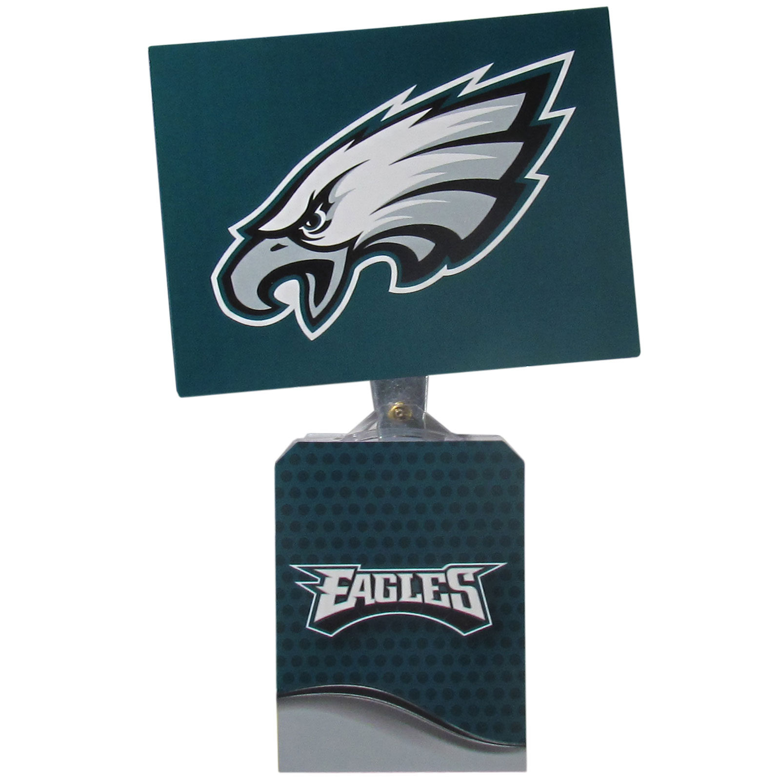 Philadelphia Eagles Solar Flags - Get pumped up on the way to game with Siskiyou's Chicago Bears Philadelphia Eagles Solar Flag that mounts to your dashboard or window. The in-motion solar flag also doubles as decoration for your tailgate or homegate! The base of the flag is 3 inches tall and the flag is 4 inches making the entire in-motion solar flag stand at 7 inches tall. Keep your spirit moving with your favorite team's Solar Flag.