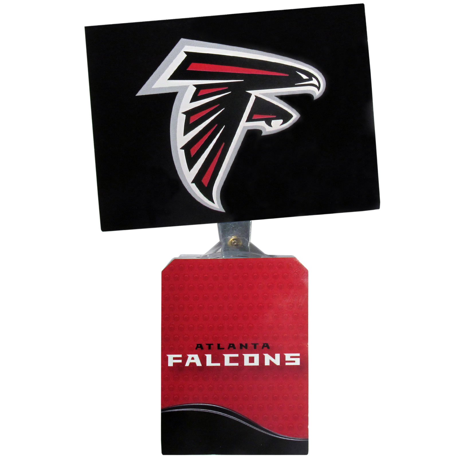 Atlanta Falcons Solar Flags - Get pumped up on the way to game with Siskiyou's Chicago Bears Atlanta Falcons Solar Flag that mounts to your dashboard or window. The in-motion solar flag also doubles as decoration for your tailgate or homegate! The base of the flag is 3 inches tall and the flag is 4 inches making the entire in-motion solar flag stand at 7 inches tall. Keep your spirit moving with your favorite team's Solar Flag.