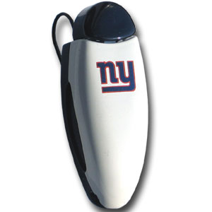 New York Giants  NFL Visor Clip - Giants Square Visor Clip. Prevent glasses from being lost or broken by storing them in a visor clip. Officially licensed NFL product Licensee: Siskiyou Buckle .com