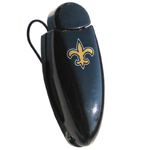 New Orleans Saints  NFL Visor Clip - Saints Square Visor Clip. Prevent glasses from being lost or broken by storing them in a visor clip. Officially licensed NFL product Licensee: Siskiyou Buckle .com