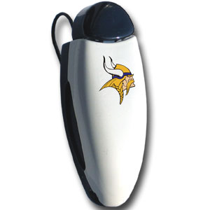 Minnesota Vikings  NFL Visor Clip - Vikings Square Visor Clip. Prevent glasses from being lost or broken by storing them in a visor clip. Officially licensed NFL product Licensee: Siskiyou Buckle Thank you for visiting CrazedOutSports.com