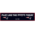 New England Patriots Street Sign Wall Plaque
