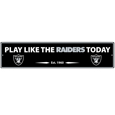 Las Vegas Raiders Street Sign Wall Plaque