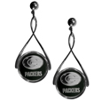 Green Bay Packers Tear Drop Earrings - Our Green Bay Packers are a sporty twist on the classic tear drop earrings. The high polish dangle earrings feature the team logo in raised metal against the primary team color inset into the 2 inch tear drop setting. The earrings have hypoallergenic stud posts. Officially licensed NFL product Licensee: Siskiyou Buckle Thank you for visiting CrazedOutSports.com