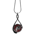 Washington Redskins Tear Drop Necklace - Our Washington Redskins are a sporty twist on the classic tear drop pendants. The high polish pendant that features the team logo in raised metal against the primary team color inset into the 2 inch tear drop setting. The tear drop pendant comes on an 18 inch chain with a 2 inch link extender. Officially licensed NFL product Licensee: Siskiyou Buckle. Thank you for visiting CrazedOutSports!