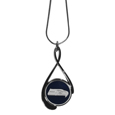Seattle Seahawks Tear Drop Necklace - Our Seattle Seahawks are a sporty twist on the classic tear drop pendants. The high polish pendant that features the team logo in raised metal against the primary team color inset into the 2 inch tear drop setting. The tear drop pendant comes on an 18 inch chain with a 2 inch link extender. Officially licensed NFL product Licensee: Siskiyou Buckle. !