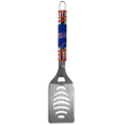 Buffalo Bills Tailgater Spatula - Our tailgater spatula really catches your eye with flashy chrome accents and vivid Buffalo Bills digital graphics. The 420 grade stainless steel spatula is a tough, heavy-duty tool that will last through years of tailgating fun. The spatula features a bottle opener and sharp serrated edge.