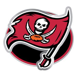 "NFL Hitch Cover -Tampa Bay Buccaneers - Our NFL hitch cover is a durable and attractive way to show off your team spirit. The hitch fits a 2"" hitch receiver. Officially licensed NFL product Licensee: Siskiyou Buckle .com"