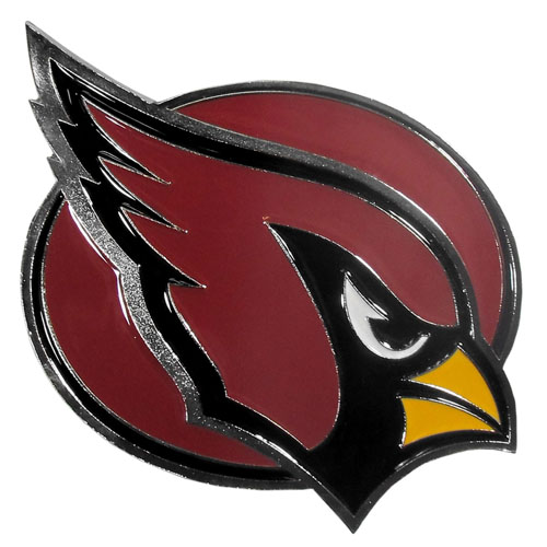 "NFL Hitch Cover -Arizona Cardinals - Our NFL hitch cover is a durable and attractive way to show off your team spirit. The hitch fits a 2"" hitch receiver. Officially licensed NFL product Licensee: Siskiyou Buckle .com"