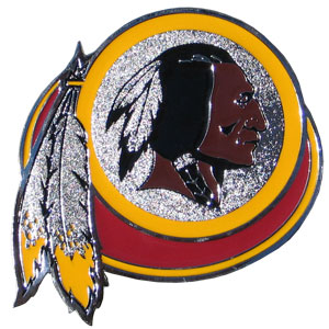 "NFL Hitch Cover -Washington Redskins - Our NFL hitch cover is a durable and attractive way to show off your team spirit. The hitch fits a 2"" hitch receiver. Officially licensed NFL product Licensee: Siskiyou Buckle Thank you for visiting CrazedOutSports.com"
