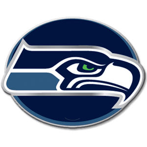 "NFL Hitch Cover -Seattle Seahawks - Our NFL hitch cover is a durable and attractive way to show off your team spirit. The hitch fits a 2"" hitch receiver. Officially licensed NFL product Licensee: Siskiyou Buckle .com"