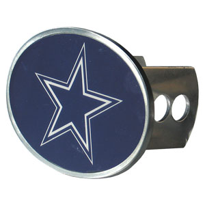 NFL Hitch Cover - Dallas Cowboys - Our officially licensed NFL oval hitch cover is made of durable zinc and fits class II and class III hitch covers. Officially licensed NFL product Licensee: Siskiyou Buckle Thank you for visiting CrazedOutSports.com