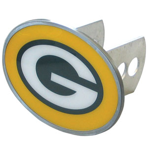 NFL Hitch Cover - Green Bay Packers - Our officially licensed NFL oval hitch cover is made of durable zinc and fits class II and class III hitch covers. Officially licensed NFL product Licensee: Siskiyou Buckle Thank you for visiting CrazedOutSports.com