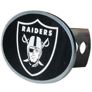NFL Hitch Cover - Oakland Raiders - Our officially licensed NFL oval hitch cover is made of durable zinc and fits class II and class III hitch covers. Officially licensed NFL product Licensee: Siskiyou Buckle Thank you for visiting CrazedOutSports.com