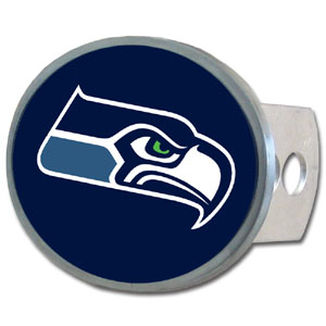 NFL Hitch Cover - Seattle Seahawks - Our officially licensed NFL oval hitch cover is made of durable zinc and fits class II and class III hitch covers. Officially licensed NFL product Licensee: Siskiyou Buckle .com