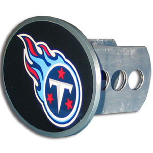 NFL Hitch Cover - Tennessee Titans - Our officially licensed NFL oval hitch cover is made of durable zinc and fits class II and class III hitch covers. Officially licensed NFL product Licensee: Siskiyou Buckle .com