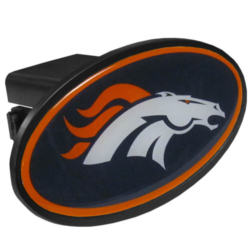 Denver Broncos Plastic Hitch Cover - Officially licensed NFL plastic hitch cover with team logo design. Fits class III hitch receivers. Officially licensed NFL product Licensee: Siskiyou Buckle Thank you for visiting CrazedOutSports.com
