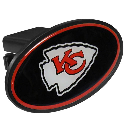 Kansas City Chiefs Plastic Hitch Cover - Officially licensed NFL plastic hitch cover with team logo design. Fits class III hitch receivers. Officially licensed NFL product Licensee: Siskiyou Buckle Thank you for visiting CrazedOutSports.com