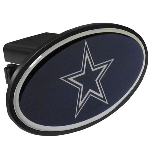 Dallas Cowboys Plastic Hitch Cover - Officially licensed NFL plastic hitch cover with team logo design. Fits class III hitch receivers. Officially licensed NFL product Licensee: Siskiyou Buckle .com