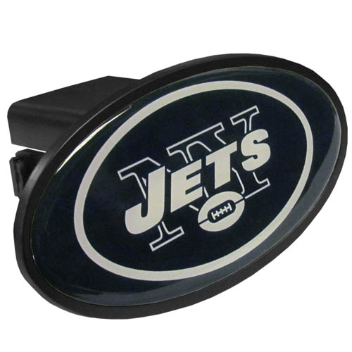 New York Jets Plastic Hitch Cover - Officially licensed NFL plastic hitch cover with team logo design. Fits class III hitch receivers. Officially licensed NFL product Licensee: Siskiyou Buckle Thank you for visiting CrazedOutSports.com