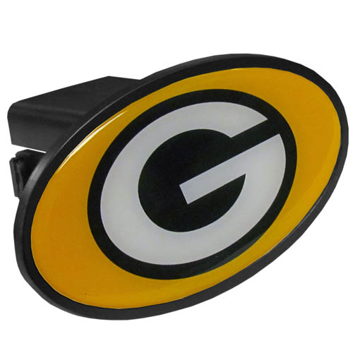 Green Bay Packers Plastic Hitch Cover - Officially licensed NFL plastic hitch cover with team logo design. Fits class III hitch receivers. Officially licensed NFL product Licensee: Siskiyou Buckle .com