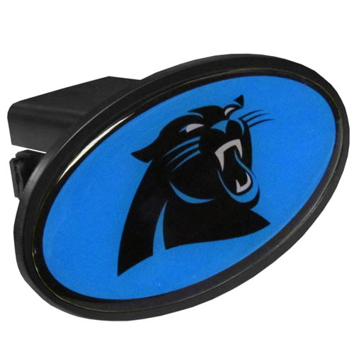 Carolina Panthers Plastic Hitch Cover - Officially licensed NFL plastic hitch cover with team logo design. Fits class III hitch receivers. Officially licensed NFL product Licensee: Siskiyou Buckle Thank you for visiting CrazedOutSports.com