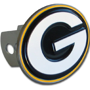 NFL Logo-Cut Hitch Cover - Green Bay Packers - Show off your team pride with our logo-only hitch cover. The oversized logo is carved in detail and enameled in team colors. Available for Class II and Class III Hitches (plugs included) and easy to install.  Officially licensed NFL product Licensee: Siskiyou Buckle Thank you for visiting CrazedOutSports.com