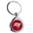 Tampa Bay Buccaneers Round Teardrop Key Chain