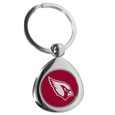 Arizona Cardinals Round Teardrop Key Chain