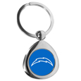 Los Angeles Chargers Round Teardrop Key Chain