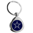 Dallas Cowboys Round Teardrop Key Chain