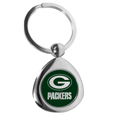 Green Bay Packers Round Teardrop Key Chain