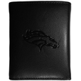 Denver Broncos Embossed Tri-fold Wallet - Officially licensed Denver Broncos Embossed Tri-fold Wallet looks great and is affordably priced. The Denver Broncos Embossed Tri-fold Wallet has the classy feel of a much higher priced wallet and features an embossed Denver Broncos logo on the front. The Denver Broncos Embossed Tri-fold Wallet has a windowed ID slot, lots of credit card slots and 2 big bill-fold pockets and removable plastic picture insert. Officially licensed NFL product Licensee: Siskiyou Buckle Thank you for visiting CrazedOutSports.com