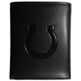 Indianapolis Colts Embossed Tri-fold Wallet - Officially licensed Indianapolis Colts Embossed Tri-fold Wallet looks great and is affordably priced. The Indianapolis Colts Embossed Tri-fold Wallet has the classy feel of a much higher priced wallet and features an embossed Indianapolis Colts logo on the front. The Indianapolis Colts Embossed Tri-fold Wallet has a windowed ID slot, lots of credit card slots and 2 big bill-fold pockets and removable plastic picture insert. Officially licensed NFL product Licensee: Siskiyou Buckle Thank you for visiting CrazedOutSports.com