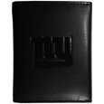 New York Giants Embossed Tri-fold Wallet - Officially licensed New York Giants Embossed Tri-fold Wallet looks great and is affordably priced. The New York Giants Embossed Tri-fold Wallet has the classy feel of a much higher priced wallet and features an embossed New York Giants logo on the front. The New York Giants Embossed Tri-fold Wallet has a windowed ID slot, lots of credit card slots and 2 big bill-fold pockets and removable plastic picture insert. Officially licensed NFL product Licensee: Siskiyou Buckle .com