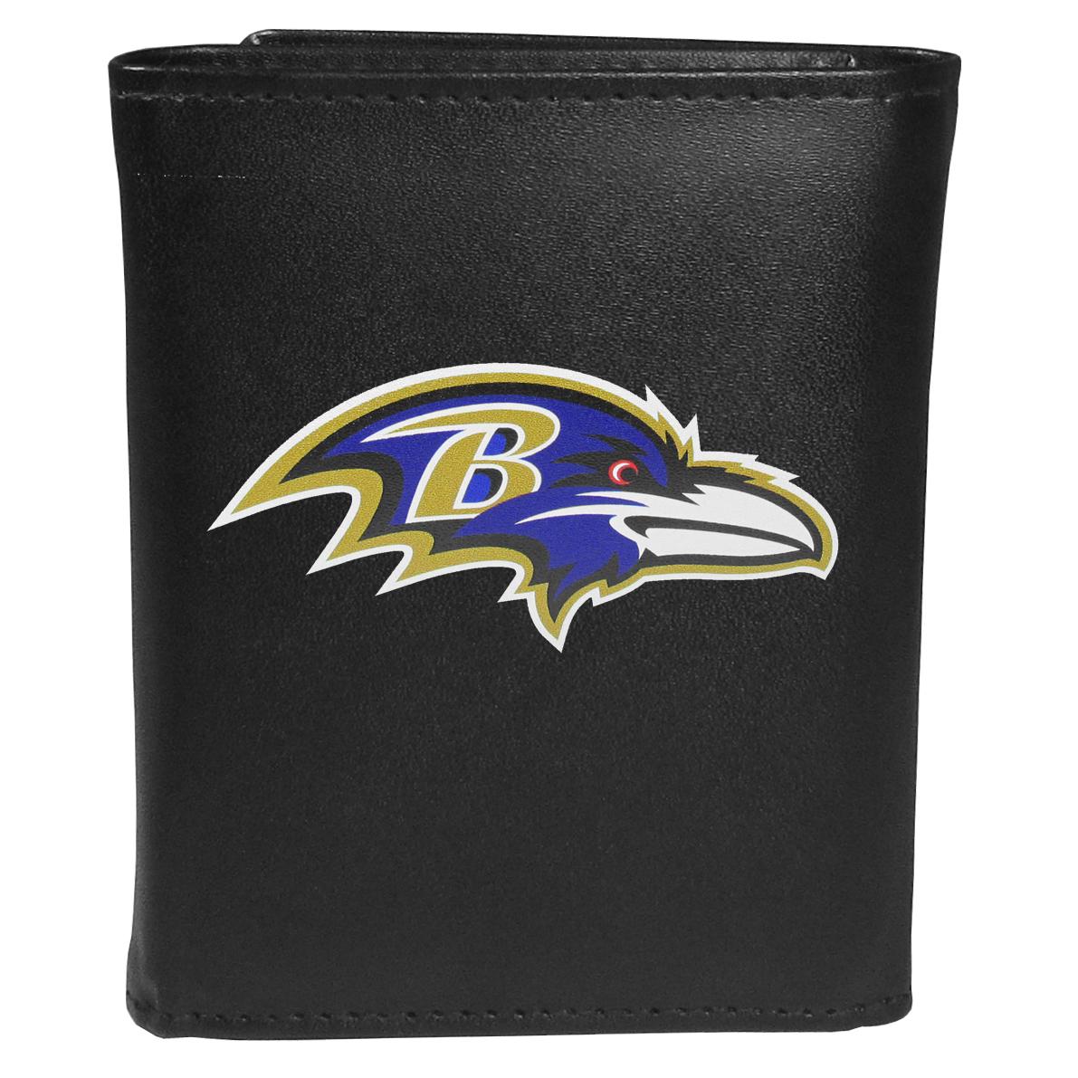 Baltimore Ravens Tri-fold Wallet Large Logo