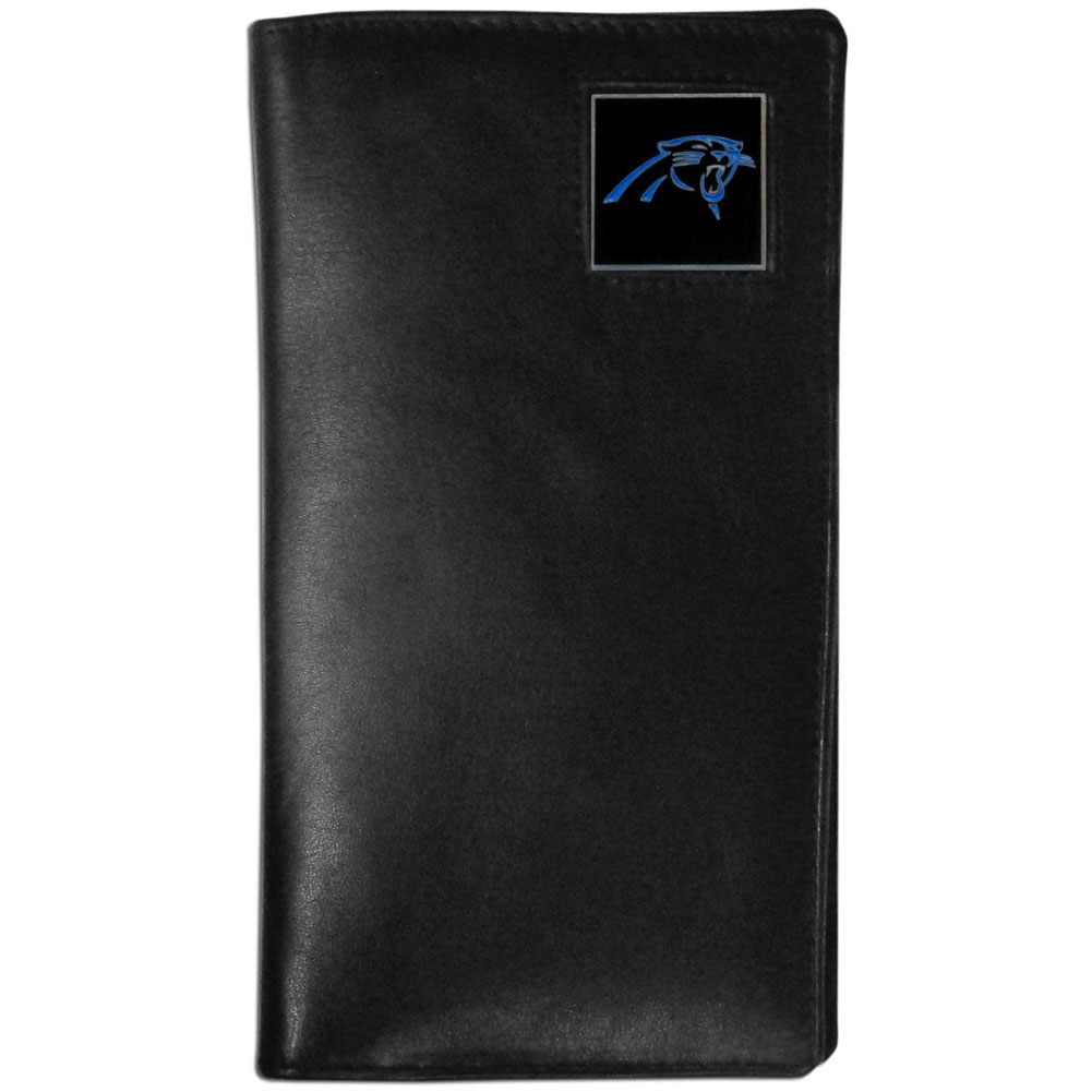 Carolina Panthers Tall Leather Wallet