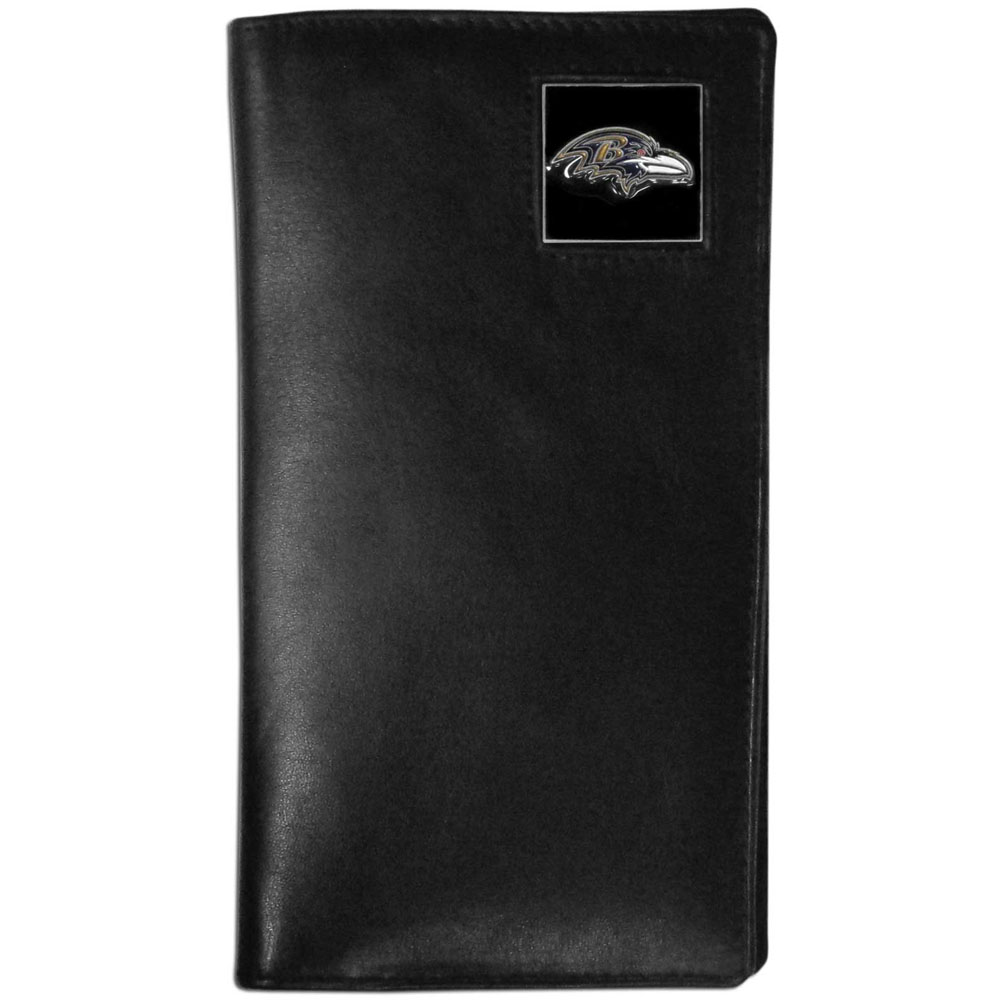 Baltimore Ravens Tall Leather Wallet