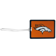 Denver Broncos Vinyl Luggage Tag