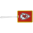 Kansas City Chiefs Vinyl Luggage Tag