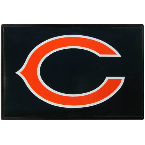Chicago Bears Game Day Wiper Flag - Our Chicago Bears Game Day Wiper Flag is the first ever, sign-in-motion, that will display your team spirit as you're cruising the streets on game day! Keep your flag up year-round and swap out the interchangeable flag when needed. The flag easily attaches to the top of your windshield wiper or back of your bike. Remember to remove decal plate when entering the carwash.