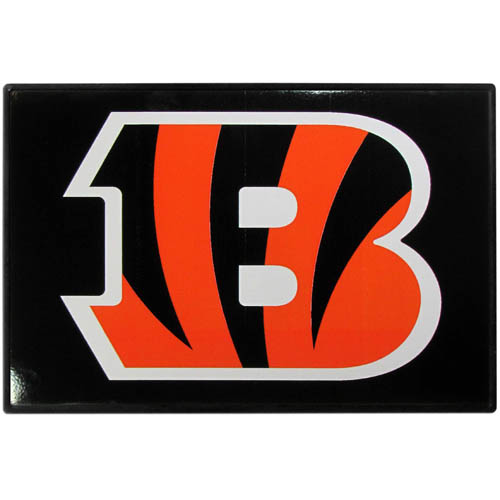 Cincinnati Bengals Game Day Wiper Flag - Our Cincinnati Bengals Game Day Wiper Flag is the first ever, sign-in-motion, that will display your team spirit as you're cruising the streets on game day! Keep your flag up year-round and swap out the interchangeable flag when needed. The flag easily attaches to the top of your windshield wiper or back of your bike. Remember to remove decal plate when entering the carwash.