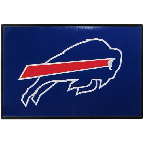 Buffalo Bills Game Day Wiper Flag - Our Buffalo Bills Game Day Wiper Flag is the first ever, sign-in-motion, that will display your team spirit as you're cruising the streets on game day! Keep your flag up year-round and swap out the interchangeable flag when needed. The flag easily attaches to the top of your windshield wiper or back of your bike. Remember to remove decal plate when entering the carwash.