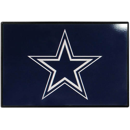 Dallas Cowboys Game Day Wiper Flag - Our Dallas Cowboys Game Day Wiper Flag is the first ever, sign-in-motion, that will display your team spirit as you're cruising the streets on game day! Keep your flag up year-round and swap out the interchangeable flag when needed. The flag easily attaches to the top of your windshield wiper or back of your bike. Remember to remove decal plate when entering the carwash.